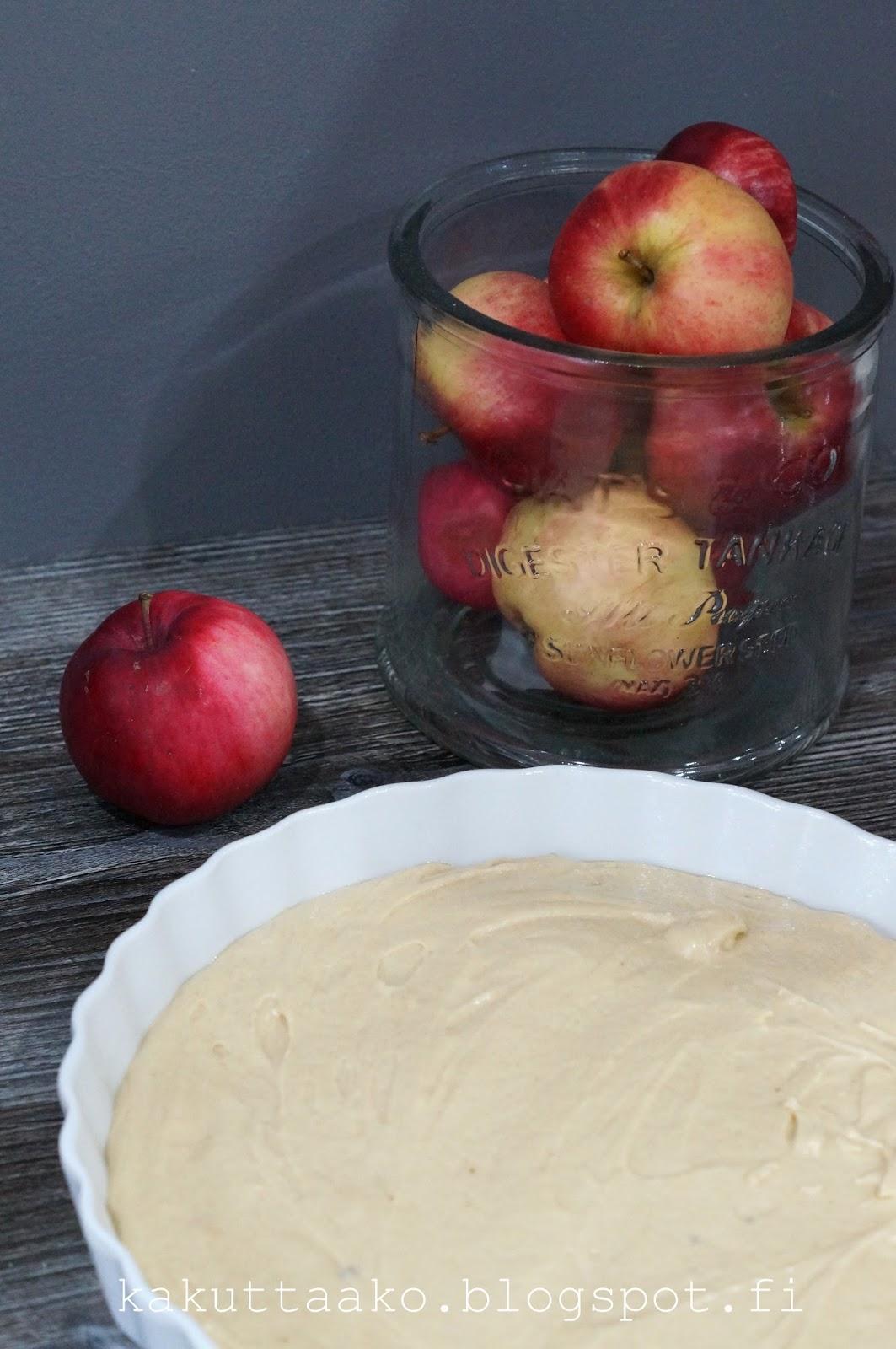 Herkullinen omenapiirakka