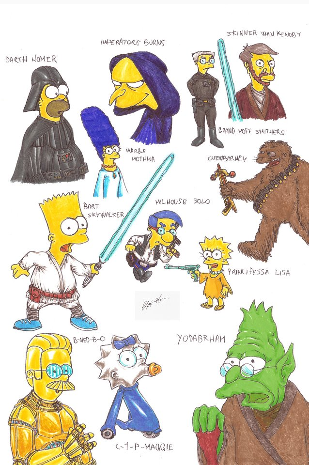 The Star Wars Culture: Star Wars Simpsons