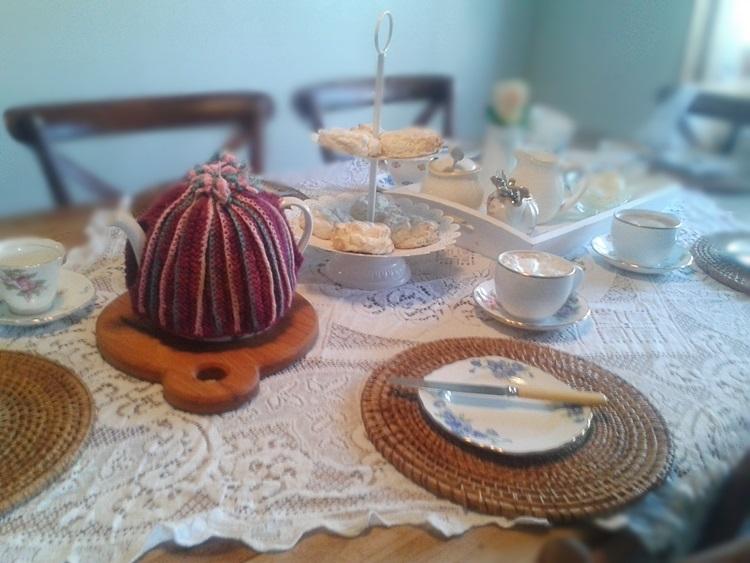 Afternoon tea with gluten free scones