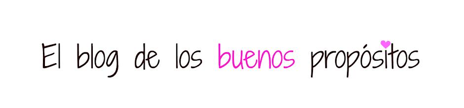El Blog de los Buenos Propósitos