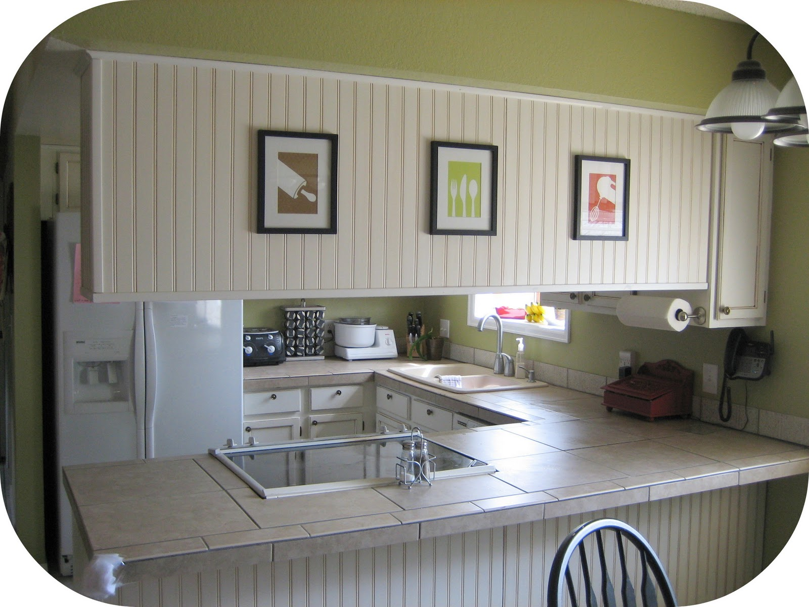 Art Prints for Kitchen Cabinets