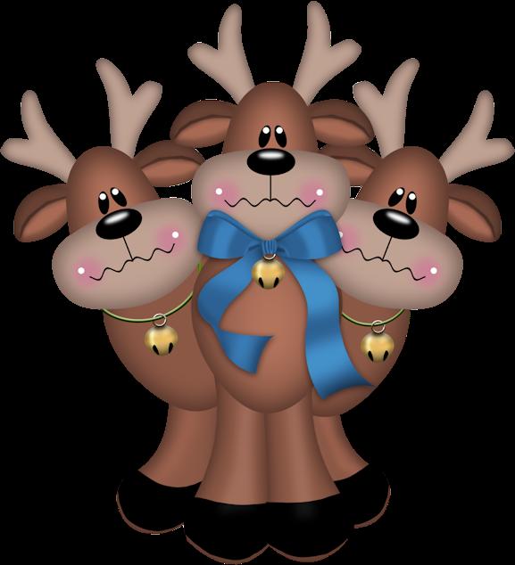 blog cat lico navide o renos de navidad