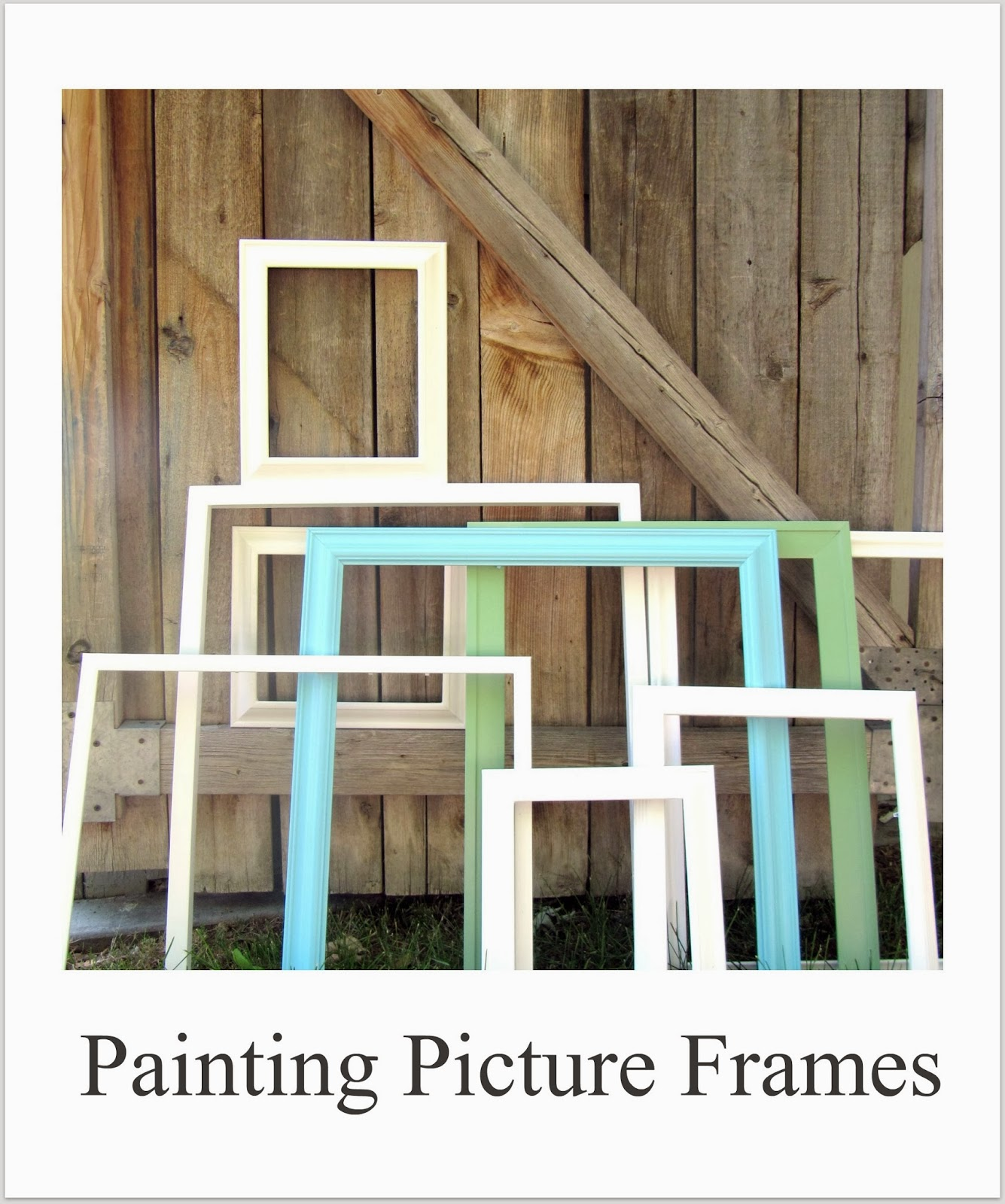 http://thewickerhouse.blogspot.com/2011/06/painting-picture-frames-picture-gallery.html