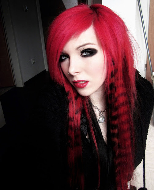 emo hairstyles - expression