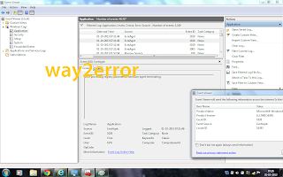 evntagnt error windows 7