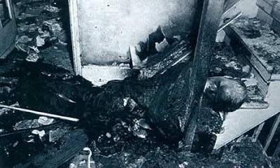 Combustão humana espontanea imagens