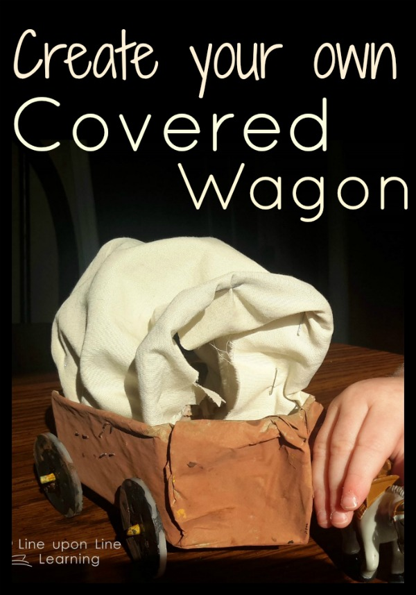 coveredwagon Pioneer Week: Covered Wagons Craft at Life Over Cs | Line upon Line Learning