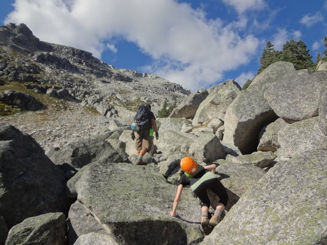 Climbing Granite, Mt. Gandalf, Tolkien Group, BC