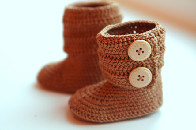 Crocheted Boots Pattern9