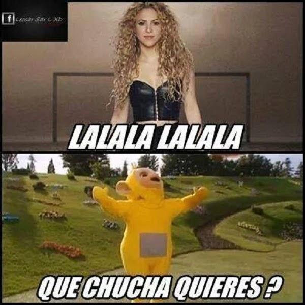 Shakira vs Lala
