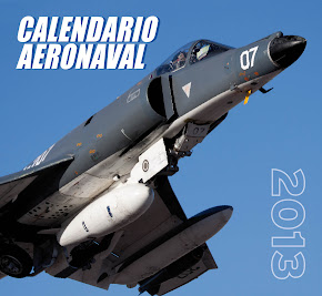 Calendario Aeronaval 2013