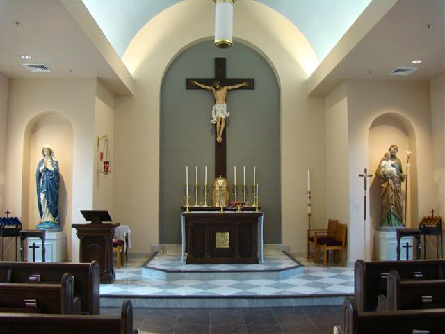 The Chapel Of Pope John Paul II High School Huntsville Alabama Catholic N
