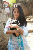 Anushka with Puppy at Blue Cross Pet Carnival Press meet-thumbnail-19