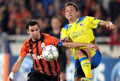 APOEL Nicosia 0 - 2 Shakthar Donetsk (1)