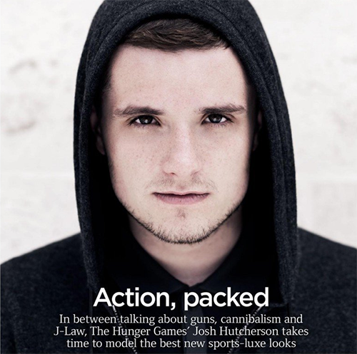 josh hutcherson, GQ Magazine, December 2014