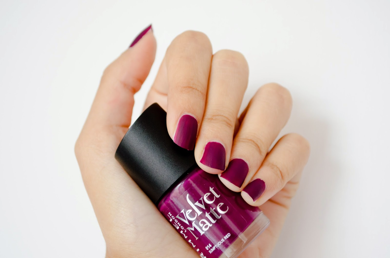 how to create matte nail polish