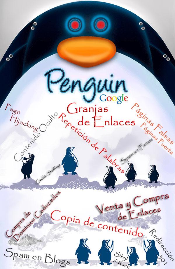 Google Penguin contra las tecnicas Black hat o las malas practicas SEO