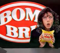 Carlos Moreno como Bill Clinton, Hillary Clinton e Monica Lewinsky na propaganda do Bombril em 1995.