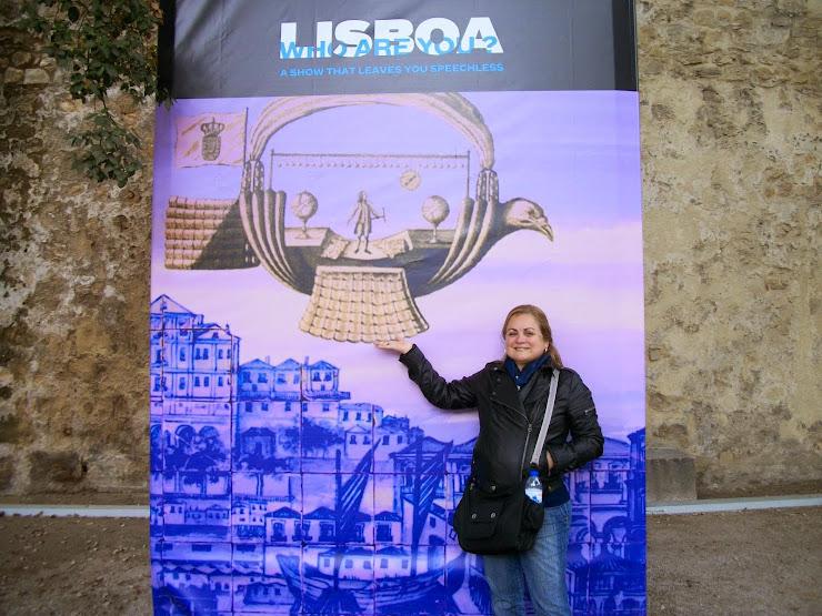 """a """"passarola"""" sobre Lisboa"""