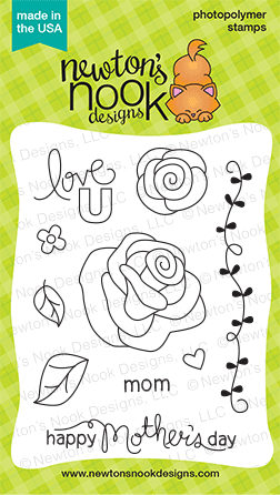 Love Grows | Rose & Mothers Day set by Newton's Nook Designs