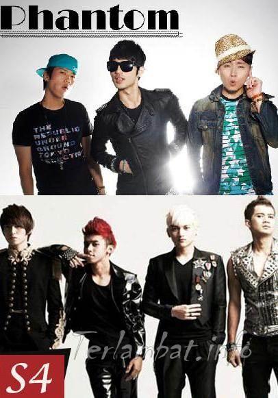 S4 dan Phantom Boyband Korea Selatan