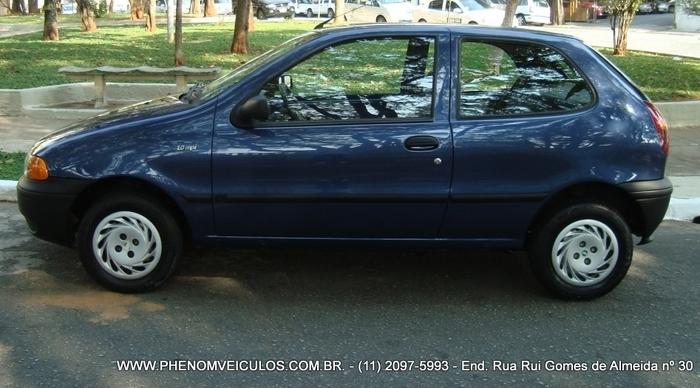 Fiat Palio 1.0 MPI EX 2 Portas 1999 - lateral
