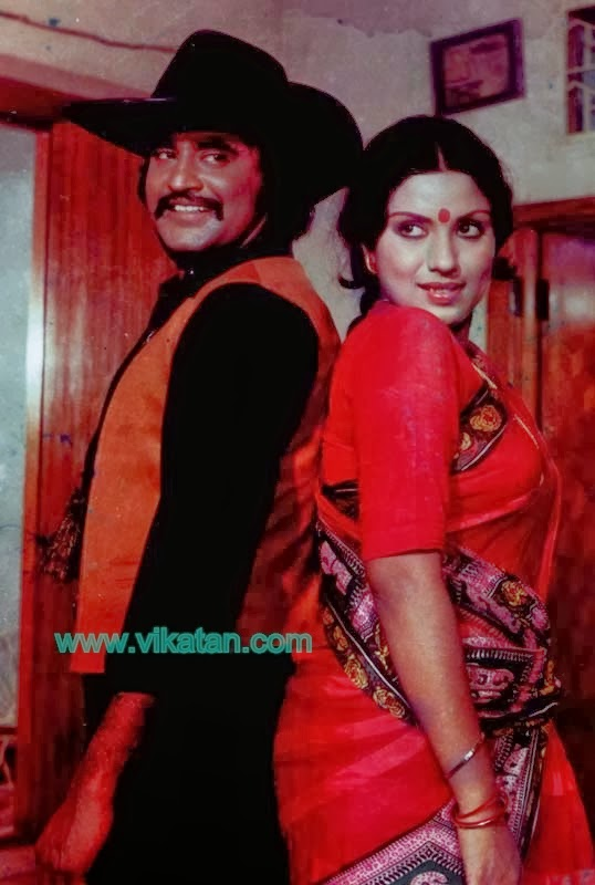 Super Star Rajinikanth & Sripriya