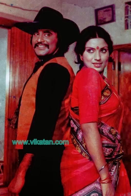 Super Star Rajinikanth & Sripriya