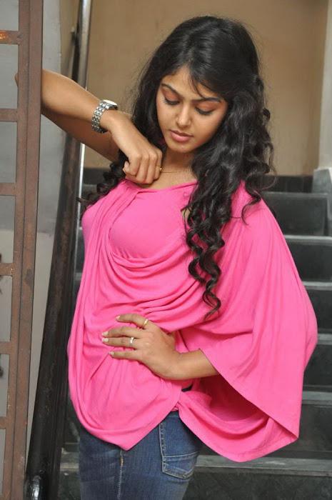 monal gajjar in pink glamour  images