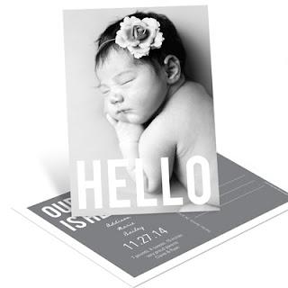 Classy Post Card Invite