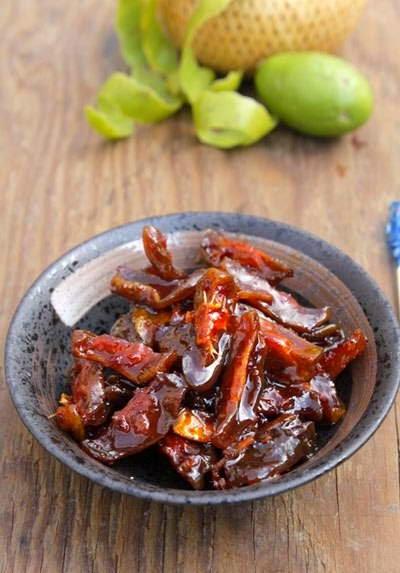 Vietnamese food - Mứt Cóc Chua Cay