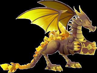 imagen del dragon tesoro adulto