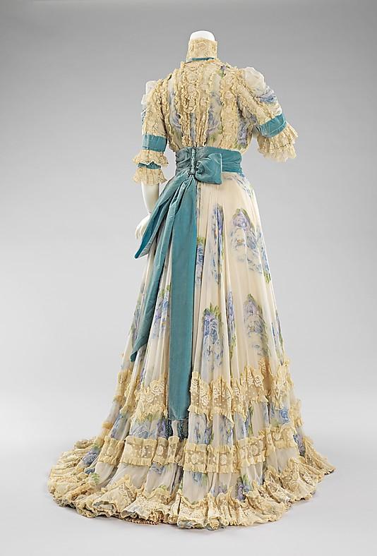 Early 20th Century Evening Dress