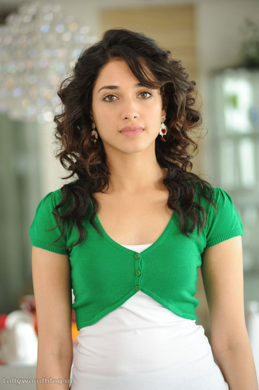 Fair Skin Actress Tamanna Latest Photo Shoot Gallery