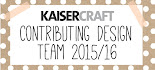 DESIGN TEAM MEMBER FOR KAISERCRAFT