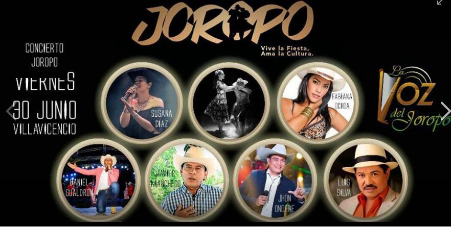 ARTISTAS DE LA MUSICA LLANERA. INTERNACIONAL DEL JOROPO.V/CIO