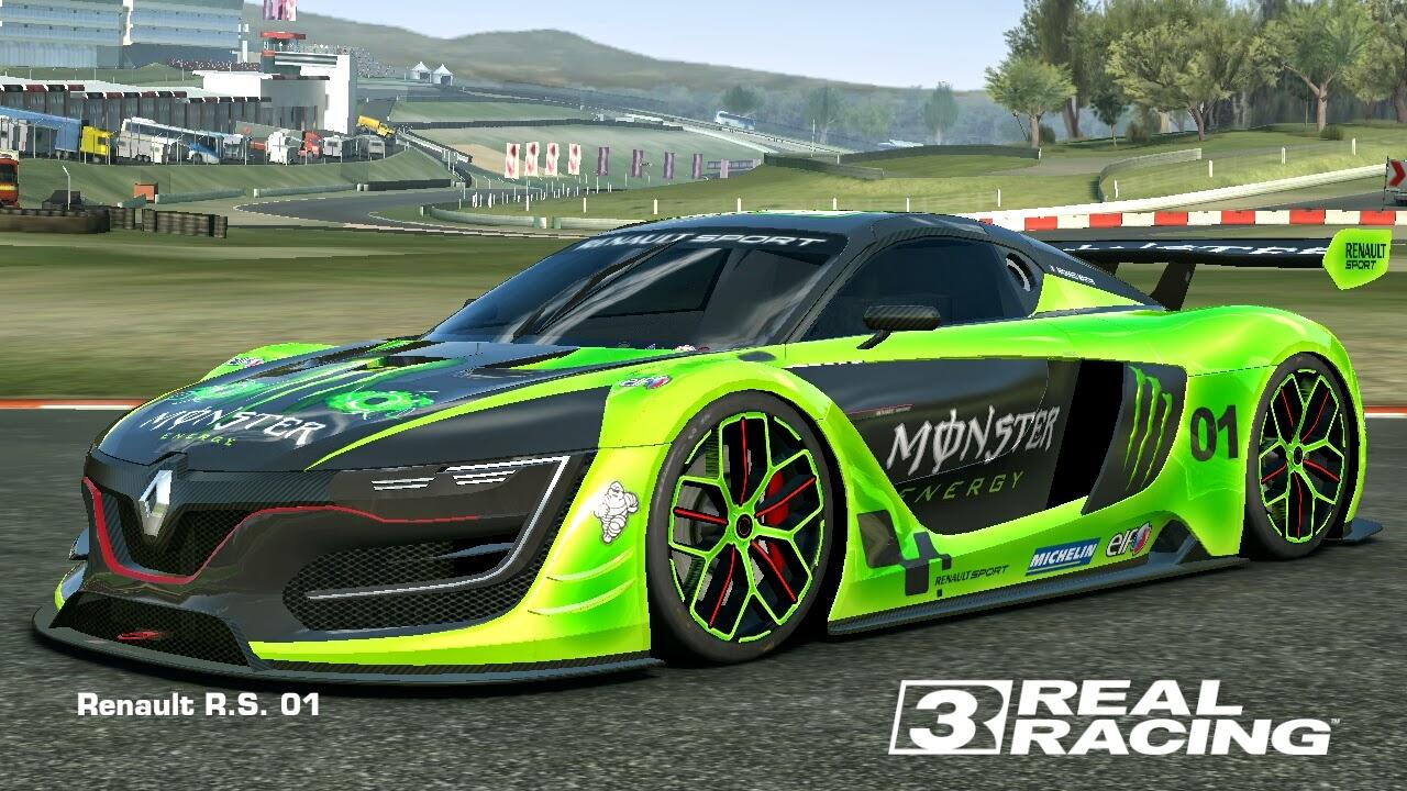 real racing 3 mod skin livery vinly 2014 renault sport. Black Bedroom Furniture Sets. Home Design Ideas