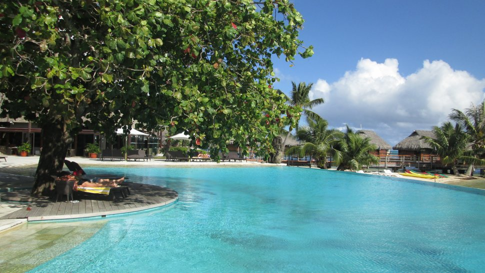 Piscine du Moorea Pearl Resort & Spa