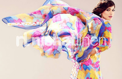 Nishat Linen Digital Print Collection 2013 For Women