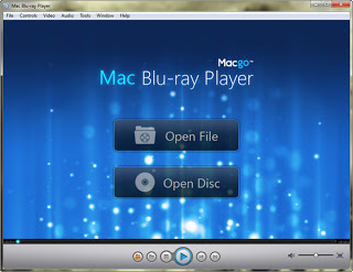 Screenshot Mac Blue Ray