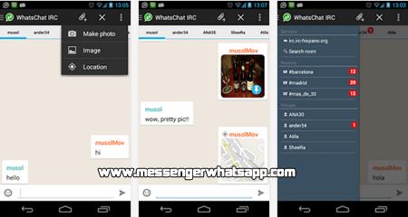 Chatea con amigos de todo el mundo con WhatsChat IRC