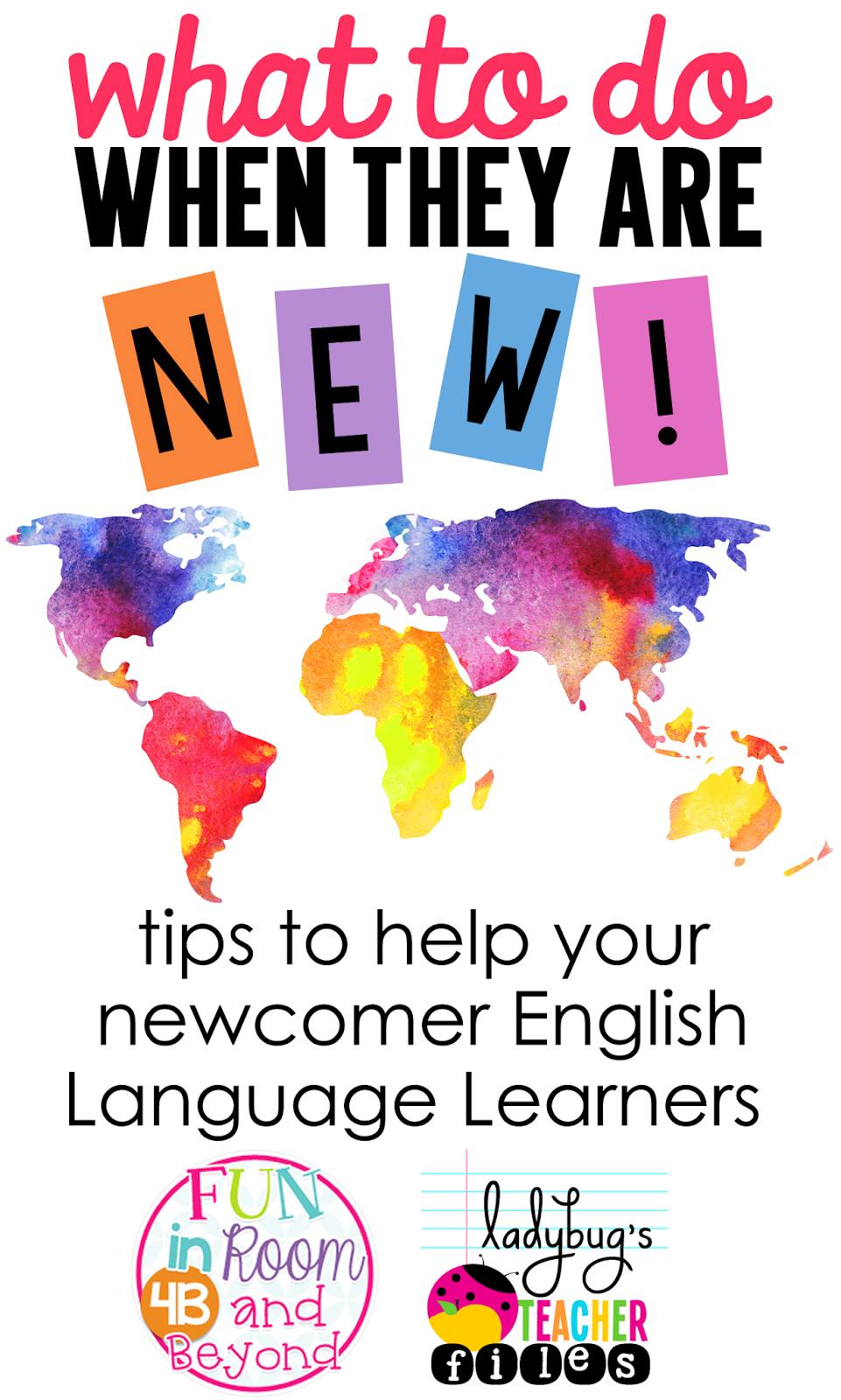 Tips to help your newcomer English Language Learners.