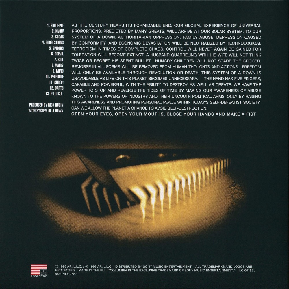 Traduzione canzone roulette system of a down
