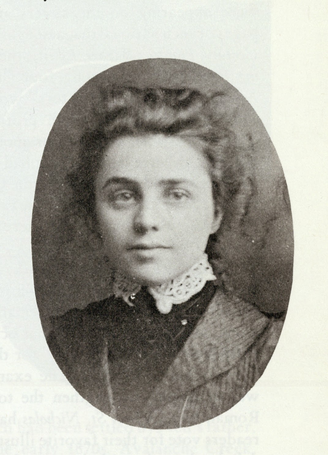 Fanny Cory in her youth
