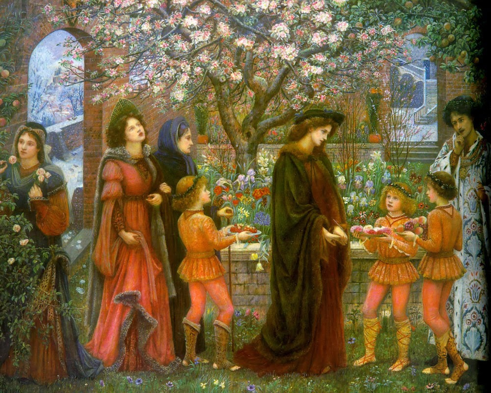 the enchanted garden of messer ansaldo el jardn encantado de micer ansaldo marie spartali stillman