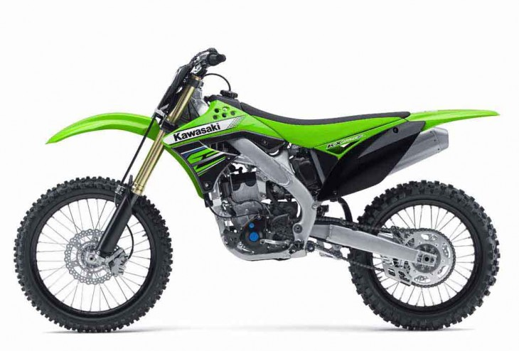2012 Supercross Kawasaki KX 450F Picture
