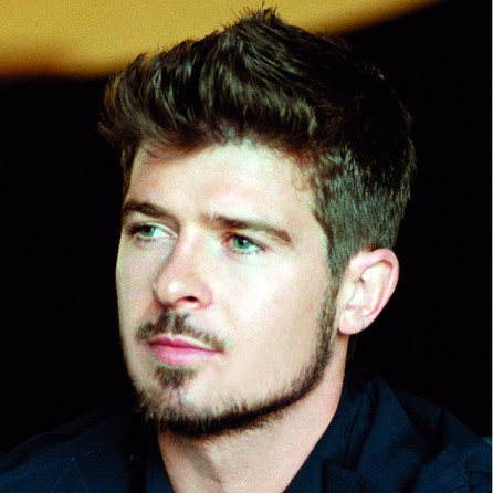 ROBIN THICKE'S NEW SONG STEALS SPOTLIGHT (18+)