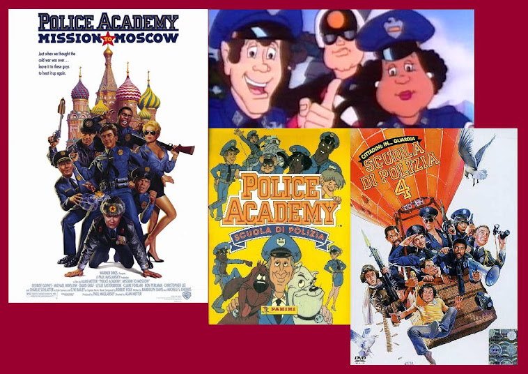 Scuola di polizia serie film e cartone animato