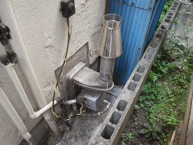 ... ガス風呂釜 取替交換工事 施工