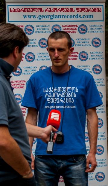 davit begiashvili interviuze